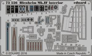 Blenheim Mk.IF interior