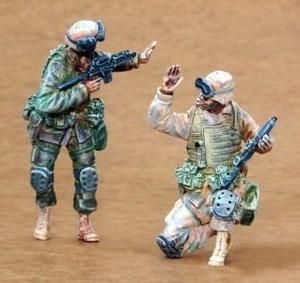 US Infantry Freedom Iraq part I (2 fig.)