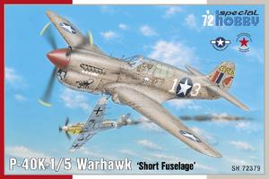 P-40K-1/5 Warhawk 'Short Tail' 1/72  - 1