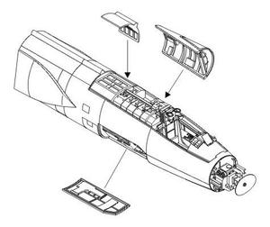 F-104S/G - exterior set for HAS