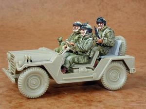 Israeli IDF for M151 crew (3 fig.)