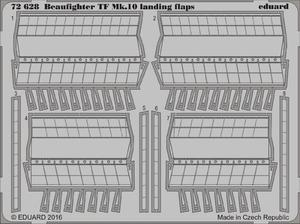 Beaufighter TF Mk.10 landing flaps