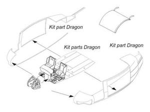 UH-1D - Nose Luggage Compartment for Drag.