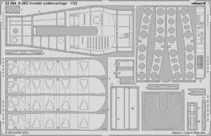 A-26C Invader undercarriage 1/32