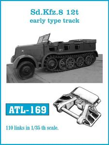 ATL-169 Sd.Kfz. 8 12t Early type track