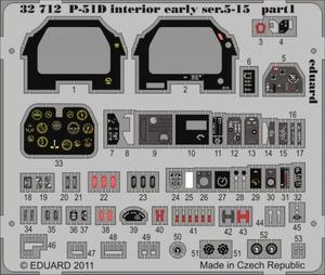 P-51D interior early ser.5-15 S.A.