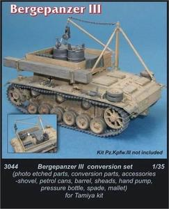 Bergepanzer III - conversion set for TAM