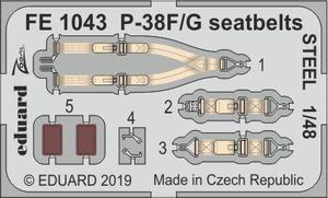 P-38F/G seatbelts STEEL 1/48