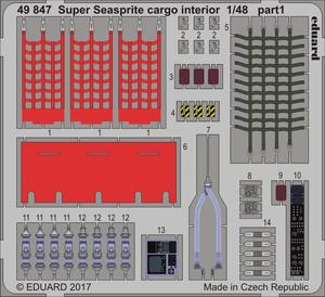 Super Seasprite cargo interior  1/48