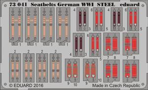 Seatbelts German WWI STEEL