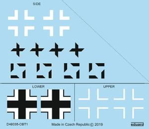 Fw 190A-8/R2 national insignia 1/48