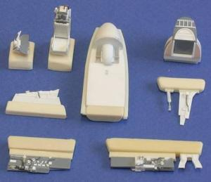 Gloster Meteor FR.Mk 8/9 interior set for MP