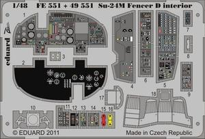 Su-24M Fencer D interior S.A.