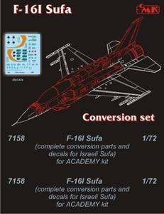 F-16D SUFA conv.set for ACA
