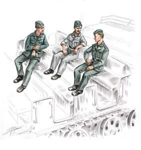German soldiers for FAMO (3 fig)