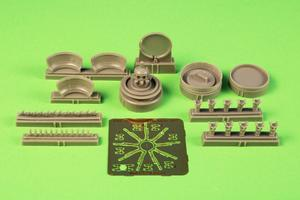 1/72 B-17G Engine Set (starboard side engine, 1pc) for Airfix kit  - 1