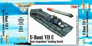 U-Boot VII Rear torpedoes' loading hatch for