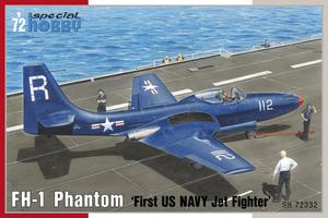 "FH-1 Phantom ""First US NAVY Jet Fighter"" 1/72  - 1"