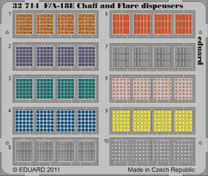 F/A-18 Chaff and Flare dispensers