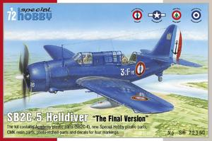 "SB2C-5 Helldiver ""The Final Version"" 1/72  - 1"