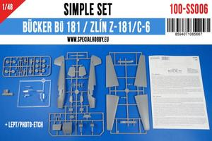 Bücker Bü 181 Simple Set