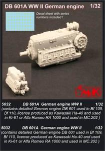 DB 601A WWII German Engine