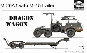 M 26 A1 Dragon Wagon (not armoured) with trai