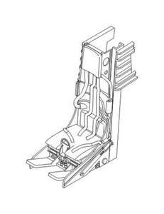 Lockhead C-2 Ejection seat for F-104C/D/G/J/