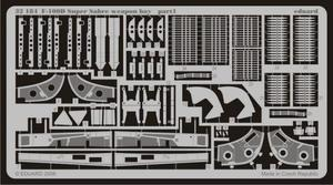 F-100D weapon bay