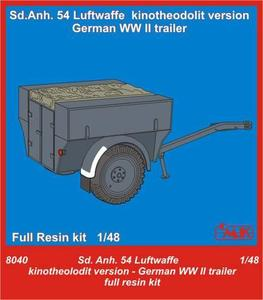 Sd.Anh.54 Luftwaffe kinotheodolit version WWI