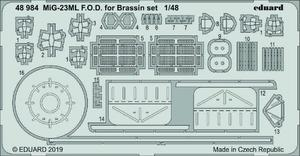 MiG-23ML F.O.D. for Brassin set  1/48