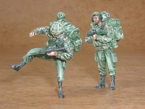 British modern soldiers part I. (2 fig.)
