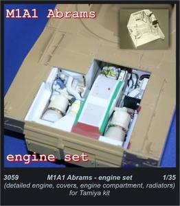 M1A2 Abrams - engine set for TAM