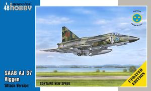 "SAAB AJ 37 Viggen ""Attack Version"" 1/48 - Updated edition  - 1"