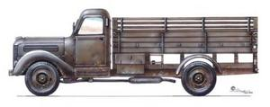 Praga RND - 3 ton 4x2 truck (WW II, post war)