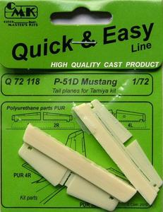 P-51D Mustang Tail planes for TAM