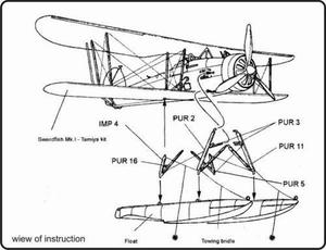 Swordfish - float planes - conversion set for