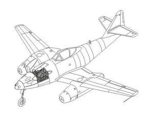 Me 262A-1a/U3 - photoversion (contains Eduard