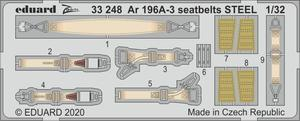 Ar 196A-3 seatbelts STEEL 1/32