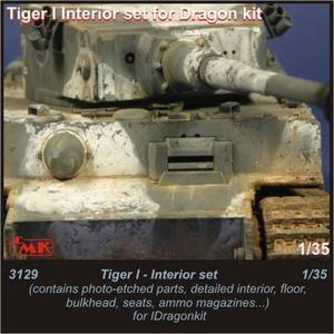 Tiger I - interior set for Drag.