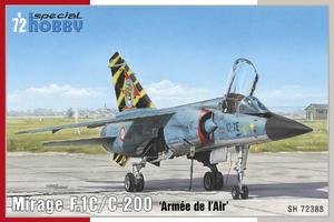 Mirage F.1C/C-200 'Armée de l'Air' 1/72  - 1
