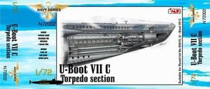 U-Boot VII Torpedo section for REV