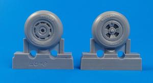 Tempest Mk.II/V/VI - Main wheels late type for Special Hobby/Pacific Coast kits