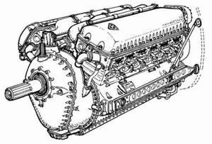 Allison V-1710 - Am. engine of WW II