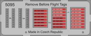 Remove Before Flight Tags (20pcs)