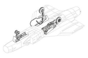 JAS 39 Gripen - undercarriage set for ITA