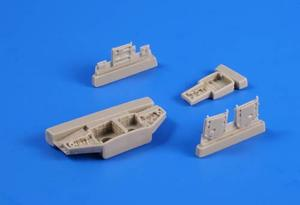 F-86F Sabre – Undercarriage bays for Airfix k