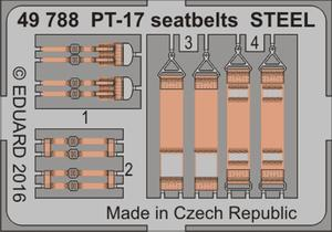 PT-17 seatbelts STEEL