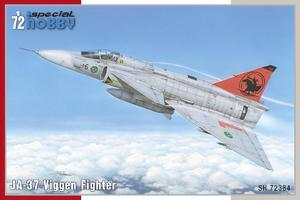 JA-37 Viggen Fighter 1/72  - 1