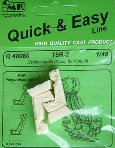 TSR-2 Ejection seats for Airfix kit